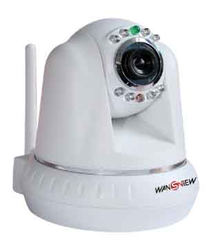 Newest 1/4 CMOS Sensor IR-COT WIFI M-JPEG IP Camera