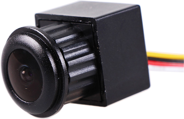 170deg view anlge 1/4 cmos 480TVL mini camera with audio wide voltage