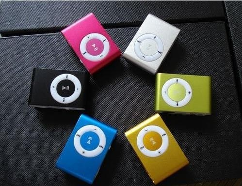 Spy MP3 New Fashion mini MINI Clip MP3 World smallest MP3 player / small clip version of the classic / 4GB