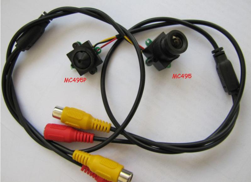 Super Mini 520TVL High resolution Audio SPY Camera.12V power