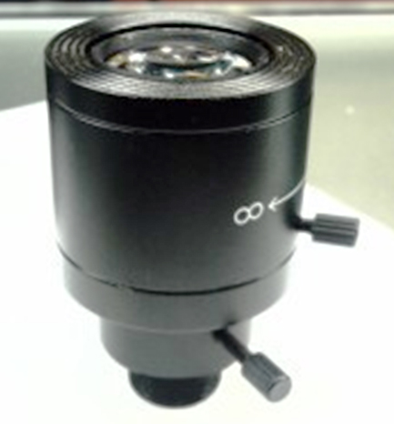9-22mm Manual Zoom CCTV Lens For Board Camera True F1.6