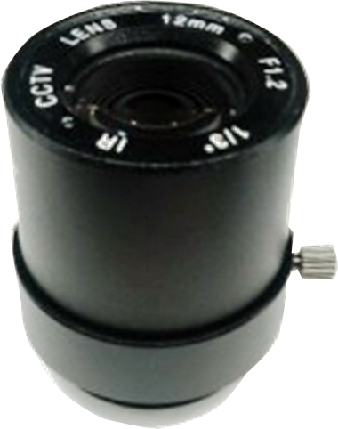 New 1/3 F1.2 12mm Low Illumination CCTV Camera Lens