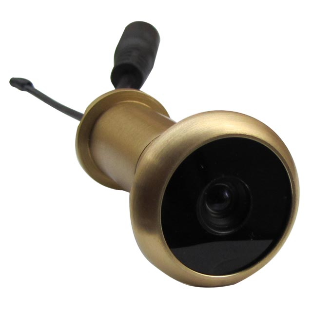 90deg 100m Range 5.8G Wireless Door Peephole Camera