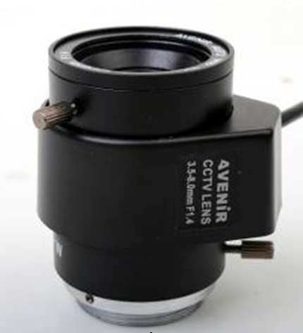 3.5-8mm F1.4 Manual Focus DC Aperture CCTV Lens