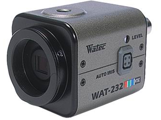 Watec WAT-232 1/3 CCD 480TVL ICR Color Analog Camera